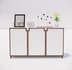边柜_002_室内设计模型