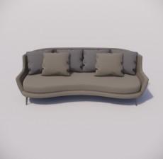 沙发_037_室内设计模型