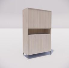 板式家具_025_室内设计模型