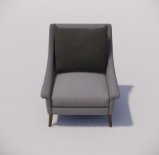 沙发_043_室内设计模型