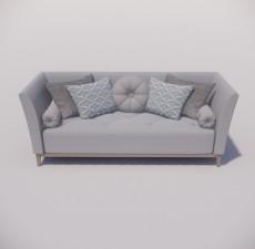 沙发_039_室内设计模型