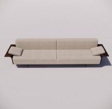 沙发_009_室内设计模型