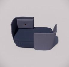 沙发_021_室内设计模型