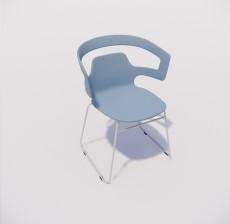 靠背椅_025_室内设计模型