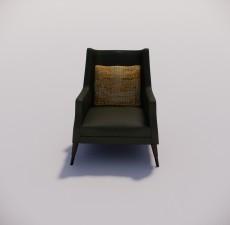 沙发_042_室内设计模型