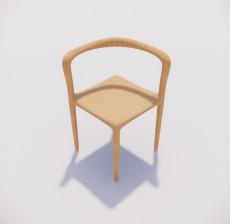 吧椅_011_室内设计模型