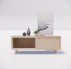 边柜_038_室内设计模型