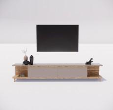 电视柜_019_室内设计模型