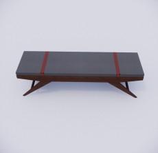 脚凳_007_室内设计模型