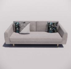 沙发_023_室内设计模型