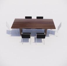 餐桌_006_室内设计模型