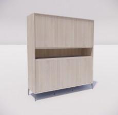 板式家具_030_室内设计模型