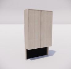 板式家具_003_室内设计模型