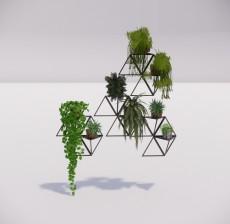 植物_002_室内设计模型