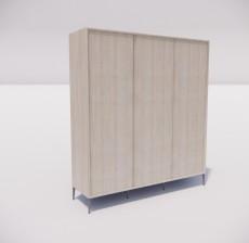 板式家具_029_室内设计模型