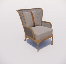 沙发椅_024_室内设计模型
