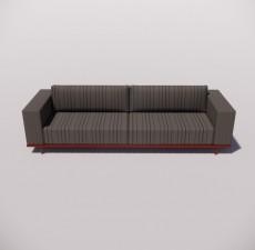 沙发_031_室内设计模型