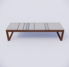 脚凳_005_室内设计模型