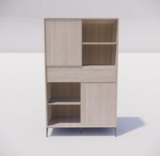 板式家具_026_室内设计模型