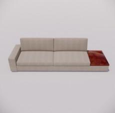 沙发_038_室内设计模型