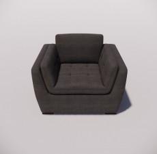 沙发_025_室内设计模型
