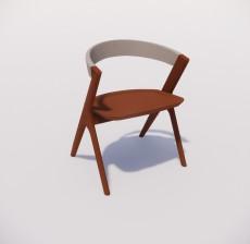 扶手椅_011_室内设计模型