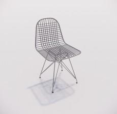 靠背椅_152_室内设计模型