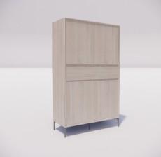 板式家具_024_室内设计模型