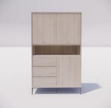板式家具_027_室内设计模型
