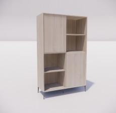 板式家具_021_室内设计模型