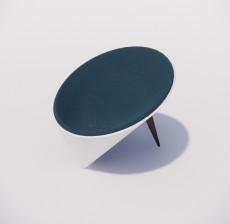 吧椅_014_室内设计模型