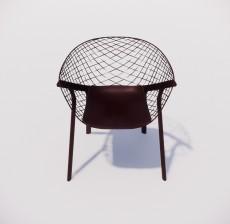 躺椅_003_室内设计模型