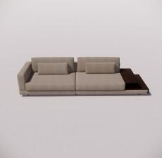 沙发_032_室内设计模型