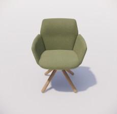 沙发椅_018_室内设计模型