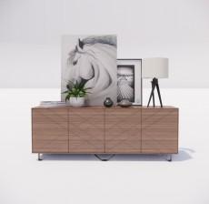 边柜_047_室内设计模型