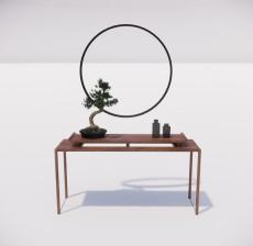 边柜_008_室内设计模型