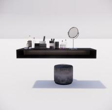 吊柜_001_室内设计模型