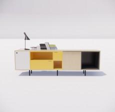 电视柜_021_室内设计模型
