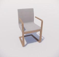 吧椅_005_室内设计模型