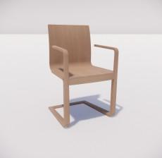吧椅_004_室内设计模型
