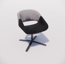 沙发椅_013_室内设计模型