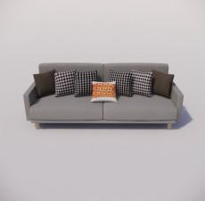 沙发_045_室内设计模型