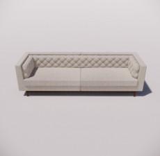 沙发_036_室内设计模型