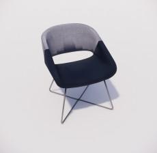 沙发椅_012_室内设计模型