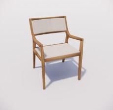 扶手椅_026_室内设计模型