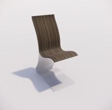 吧椅_010_室内设计模型