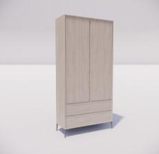 板式家具_007_室内设计模型