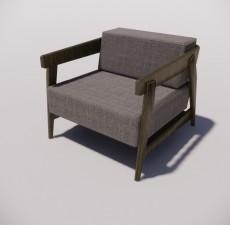 沙发_026_室内设计模型