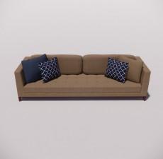 沙发_018_室内设计模型