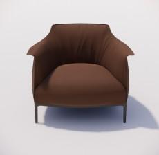 沙发椅_011_室内设计模型